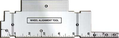 Pinewood Derby Car Wheel Alignment Tool