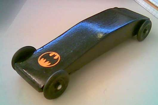 Racer Pinewood Derby Car