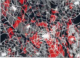 Spider Web Body Skin