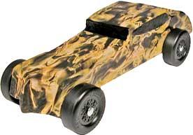 Pinewood Derby Car Body Skins