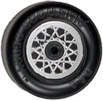 Pinewood Derby Car Wheel