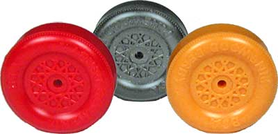 Colored Pinewood Derby Car Wheels