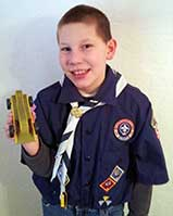 Pinewood Derby Trophy Winner