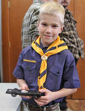 Unlimited Pinewood Derby Car