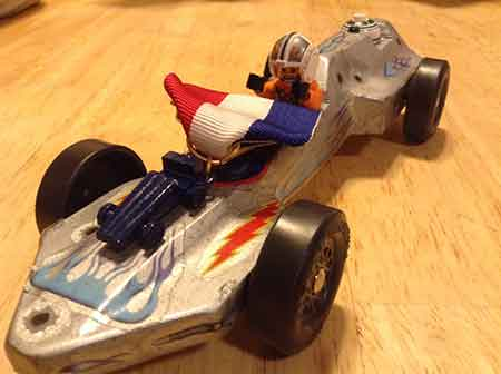 Starfighter Pinewood Derby Car