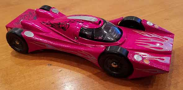 Pinewood Derby Car for girls