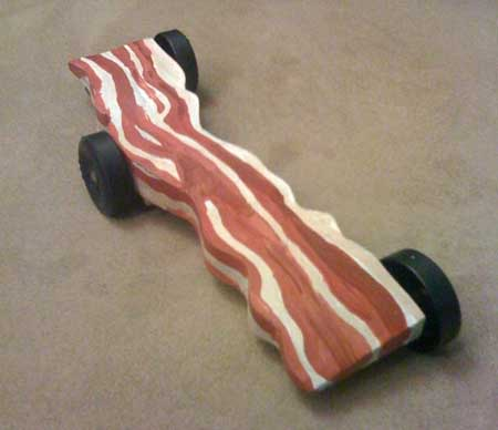 Pinewood Derby Car Axles