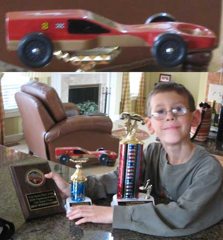 Starfighter Pinewood Derby Car Design