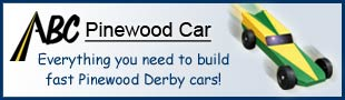 ABC Pinewood Car