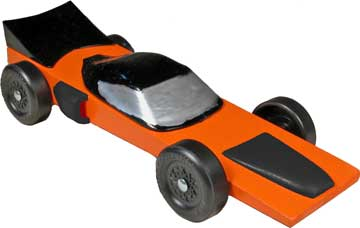 Falcon Pinewood Derby Car Kit