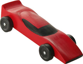 Completed Ferrari Car