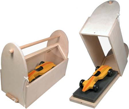 Pinewood Derby Car Mobile Garage Kit