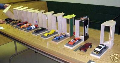 Pinewood Derby Car Mobile Garage Kit