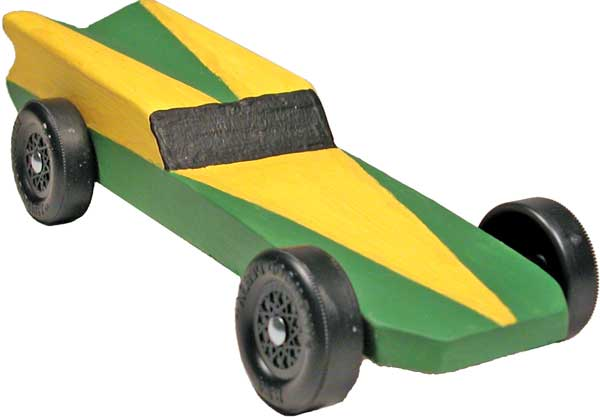 pinewood derby race car templates - the hornet pinewood derby car design