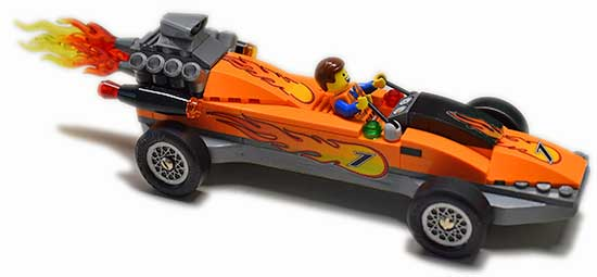 LEGO pinewood derby car