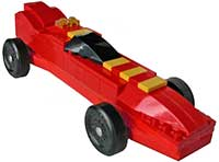 Red Lego Car Kit