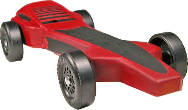 Magnum Pinewood Derby Car