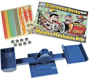 Pinewood Derby Master Mechanic Kit