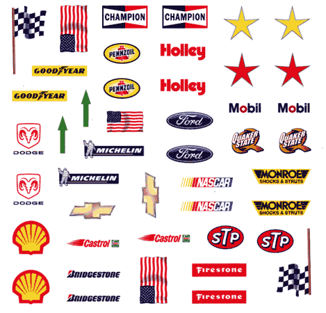 Slot cars drag racing