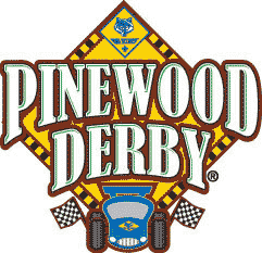 Pinewood Derby Logo