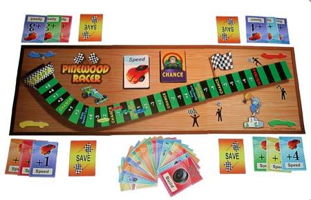 Pinewood Racer Board Game