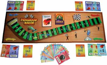 Pinewood Derby Board Game