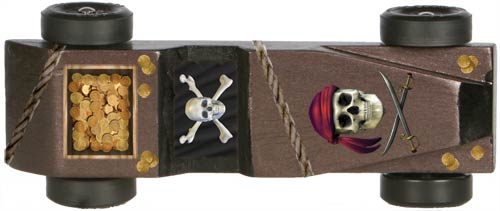 Pirate Decal For Pinewood Derby Cars