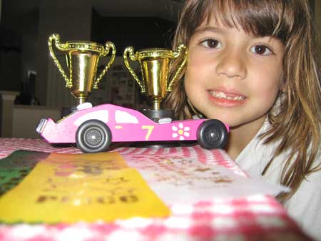 pinewood derby designs for girls