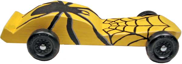 Spider Car side view