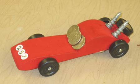 customer photos winner using our pinewood design - Pinewood Derby Car Design Ideas